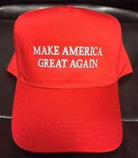 DONALD TRUMP RED MAKE AMERICA GREAT AGAIN CAP HAT NEW