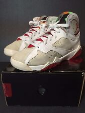 2008 NIKE AIR JORDAN 7 VII HARE YOUTH 5.5 WOMENS 6.5 7 CDP BORDEAUX OG 3 4 11 5