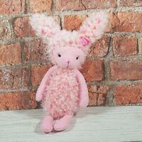 Jellycat Soft Toy Plush Bunny Wunny Pink Fluffy Rabbit Retired