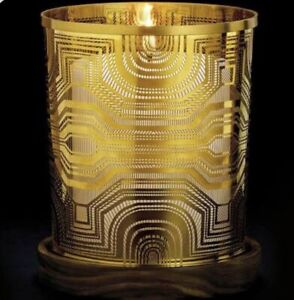 Diptyque Gold Brass Candle Holder For 190g Candle Limited Sold Out!
