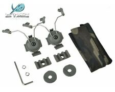 Z-Tactical Helmet Rail Adapter Set For COMTAC I/II/IV Headset on ARC Rail Kit FG