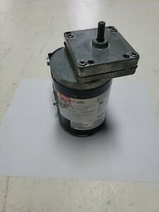 Dayton Model 1LPU9 Gear Motor 68 RPM 1/25 hp 115/230V Used As-is