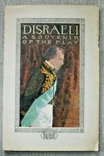 Disraeli - A Souvenir of the Play, George Arliss - Illustrated, 1912