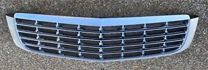 1997-1999 cadillac deville front chrome hood mounted grille OEM 1998