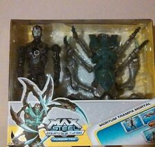 MAX STEEL MORTUM TRAMPA MORTAL CONNECT TEK EQUIPO TURBO FUSION TEK COLLECTOR