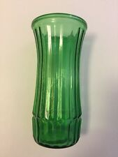 "Hoosier Green Glass 8"" Vase #4 4088-C"
