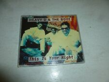 HEAVY D AND THE BOYZ - This Is Your Night - 1994 UK 4-track CD Single