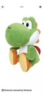 Taito Green Yoshi Plush Toreba Green Yoshi Sit Stuffed 45cm