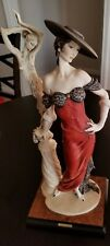 Giuseppe Armani Fascination Lady with Sculpture: Limited #752 of 5000!