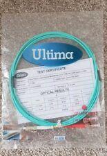 2m Om3 Fibre Optic Cable Duplex Network Patch Lead LSZH LC Abr136 878