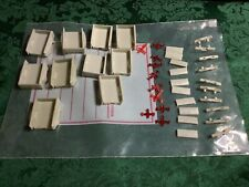 River Point Station lot of 10 Unpainted Pickup Bed (Kitbashing)