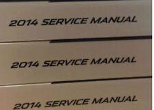 2014 GM Chevy Chevrolet Spark Gas Service Shop Workshop Repair Manual SET NEW