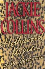 Hollywood Wives by Jackie Collins Hardcover book #4-excellent condition