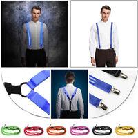 Unisex Suspenders Neon LED Light Up Flashing And Blinking Novelty Accessory