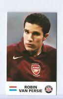 """""""RARE"""" ROBIN VAN PERSIE 2004 UK TRADITIONS """"1ST EVER PRINTED"""" ROOKIE CARD! MINT!"""