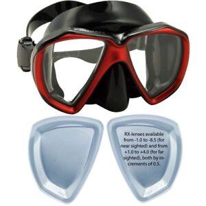 TAOPE Snorkel Mask Nearsighted Prescription Optical Corrective Myopic Lens