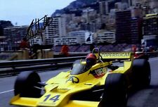 Emerson Fittipaldi Fittipaldi F5A Monaco Grand Prix 1978 Signed Photograph 2