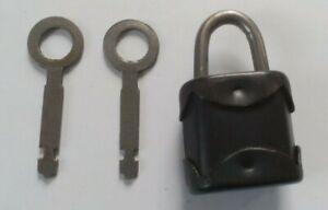 Vintage Soviet USSR Lock ambarian ussr CASTLE. 2