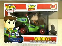 Funko Pop! Rides Disney Pixar Toy Story WOODY With RC Vinyl Figure In Hand  NEW