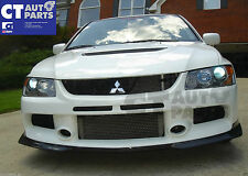 RALLIART Style Carbon Fiber Front Lip for MITSUBISHI LANCER EVO 9