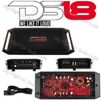 DS18 GEN X1200.2 2 Channel Amplifier Class A/B Amp 1200 Watts Max Car Audio