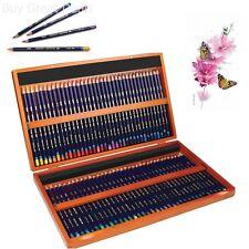 Derwent Watercolor Colored Pencils 72 Watercolour 3.4mm Core Wooden Box 72 Co