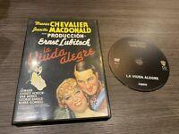 La Vedova Alegre DVD Maurice Chevalier Jeanette Madonald Ernst Lubtisch