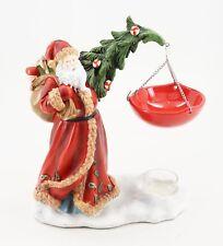Yankee Candle Old World Santa Hanging Tart Warmer Burner Santa Claus Christmas