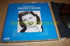 Patsy Cline CD The Legendary 1990 USA MCA Heartland Music 22 Songs