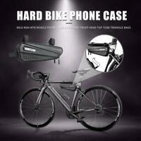 Waterproof Bicycle Front Triangle Bag Mountain Road MTB Bike Tube Frame Tool #BU
