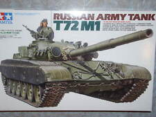 Tamiya 1/35 Russian Army T-72M1 Model Tank Kit #35160