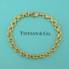 TIFFANY & Co. 18K Yellow Gold Circle Link Bracelet 7""