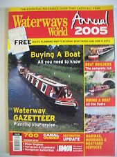 Waterways World magazine. Annual 2005. Buying A Boat, All You Need Toi Know.