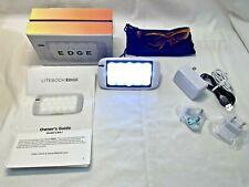 LITEBOOK EDGE Model LB4.1 Portable LED Light w/Blue Light Blocking Glasses $180