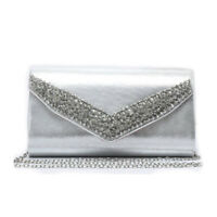 LeahWard Women's New Evening Diamante Party Clutch Bag For Women Wedding Prom