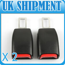 2pcs Universal Seatbelt Car Safety 21mm  Seat Belt Extender Extension