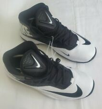 Nike Zoom Code Elite 3/4 Shark Football Cleats Men's Black 603370 100 Size 15
