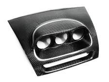 Carbon Fiber Dash Mount Triple Gauge Pod Trim Cover 60MM For Mazda RHD RX8