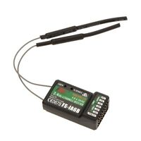 2.4G FS-iA6B 6 Ch Receiver PPM Output for Flysky i4 i6 i10 Transmitter J4R9
