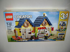 NEW 31035 Lego CREATOR 3 in 1 Beach Hut Building Toy SEALED UNOPENED BOX RETIRED