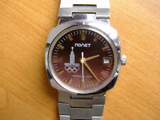 POLJOT Russian Soviet watch Moscow OLYMPIC GAMES