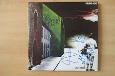 """Killing Joke Autogramme signed LP-Cover """"what`s This for...!"""" Vinyl"""