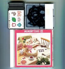 "Janome 8000 + 9000 Elna Kenmore Embroidery Memory Card: ""Applique Series"" No. 10"