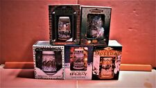 New listing Lot Of 5 Budweiser Holiday Beer Stein'S New In Box Never Used 93,95,96,97,98