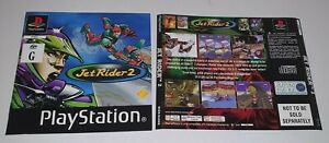 Sony Playstation 1 Jet Rider 2 Back Cover & Manual PAL Version PS1