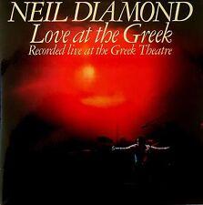Neil Diamond-Love At The Greek-2LP-1977 CBS Records Australian issue-S2BP 220184