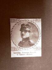 Caduto per la Patria Severino Revelli di Laveno (Como) Prima Guerra Mondiale WW1