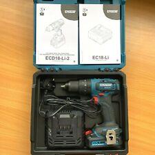 BRUSHLESS Erbauer Combi Drill 18v 2.0Ah Li-ion ECD18-Li *METAL CHUCK*