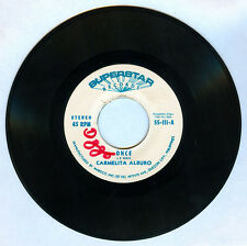 Philippines CARMELITA ALBURO Once OPM 45 rpm PROMO Record