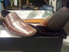 NEW FIESSO AURELIO GARCIA MENS LEATHER Square Toe Loafers SHOES -7